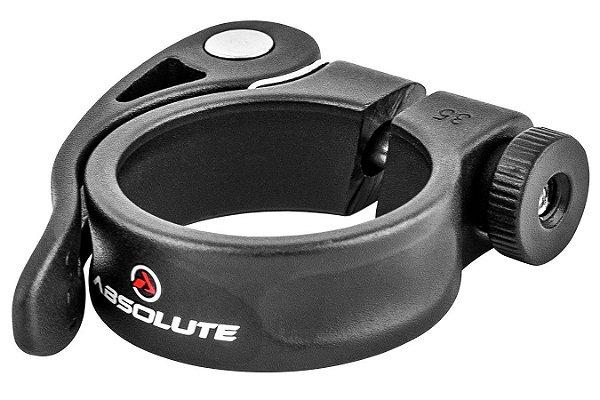 Abraçadeira de Selim Absolute Wild 35mm para Canotes 30.9mm e 31.6mm com Blocagem
