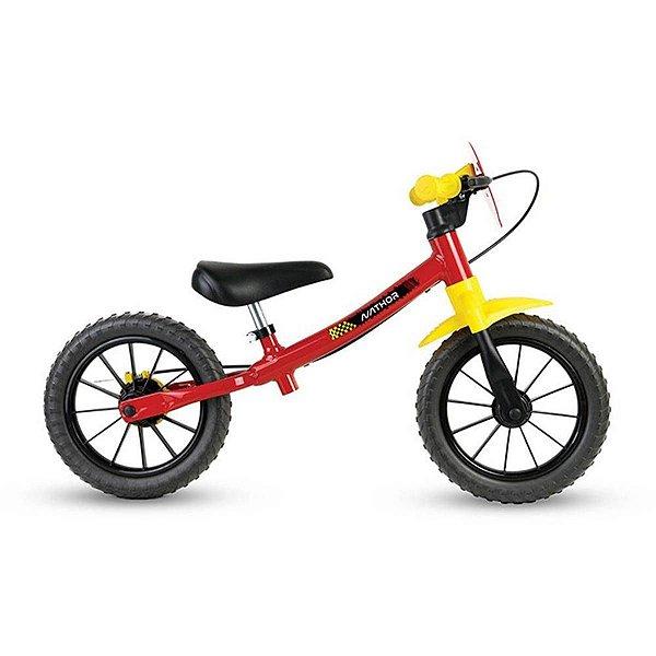 Bicicleta Nathor Balance Masculina Fast Vermelho Amarelo