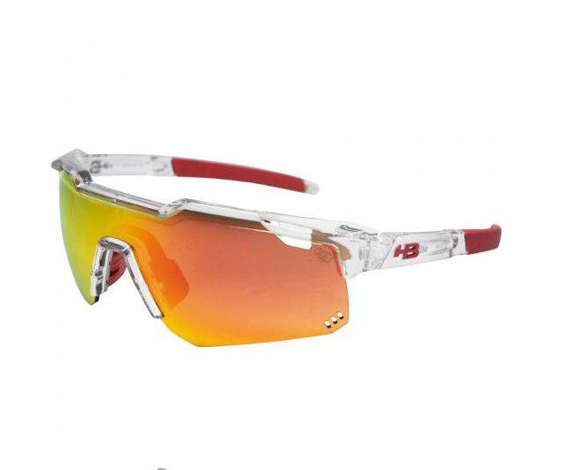 Óculos De Sol Hb Shield Evo M Clear Multi Red