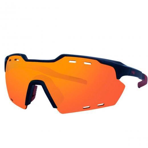 Óculos De Sol Hb Shield Compact M Gloss Black Multi Red