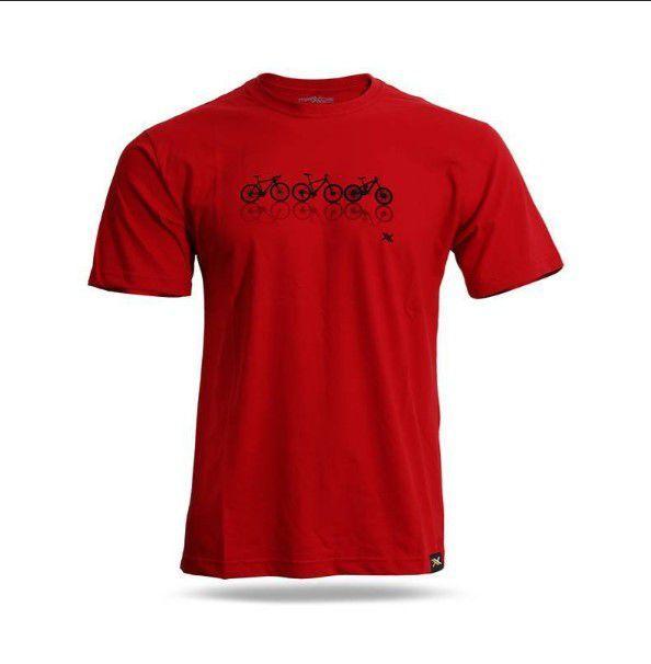 Camiseta Mattos Rancing Choice Vermelho Tam M
