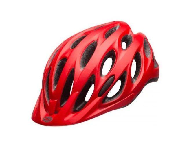 Capacete Bell Para Ciclismo Tracker Vermelho Tam U