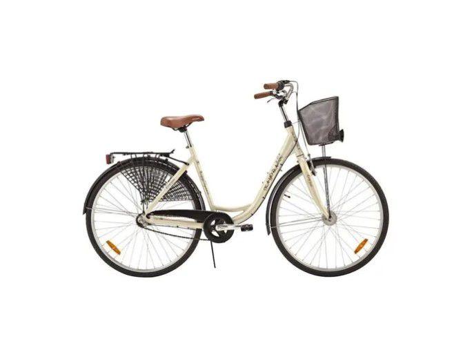 Bicicleta Kayoba City Elegance svart aro 700 nexus 3 Branca