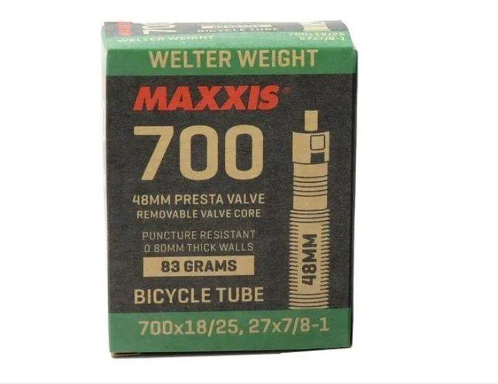 Câmara De Ar Maxxis Welter Weight 700x18 / 25 bico 48mm