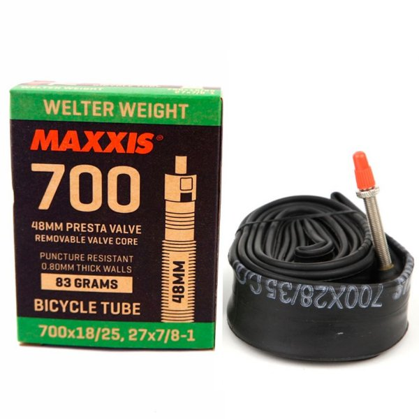 Câmara De Ar Maxxis Welter Weight 700x18 / 25 bico 60mm