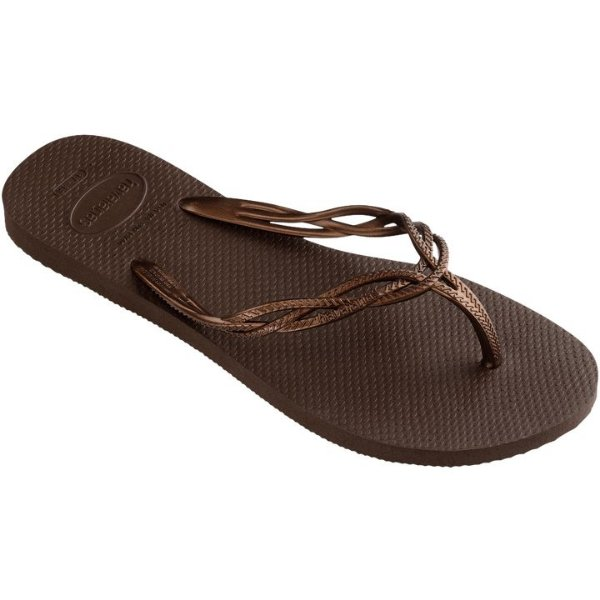 Chinelo Havaianas Flash Sweet Marrom Tam 39/40