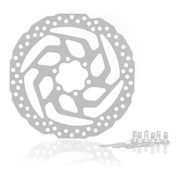 Disco de freio (Rotor) Shimano MTB SM-RT26 6-Furos 180mm