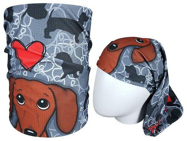 Bandana Tubular Muhu I Love Dog 7060