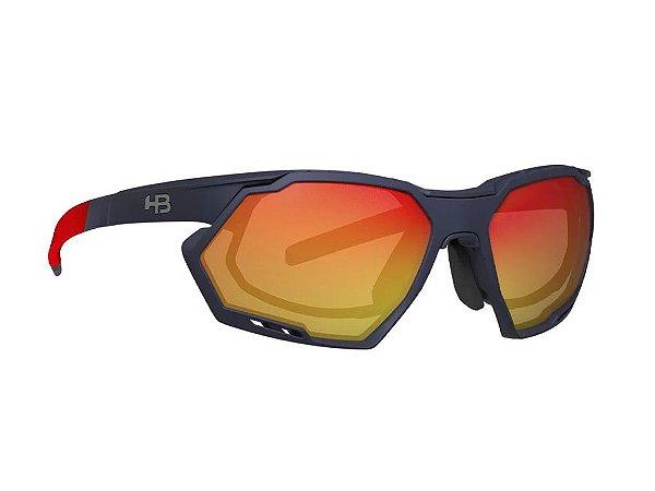 Oculos de Sol HB Rush Matte navy Multi Red