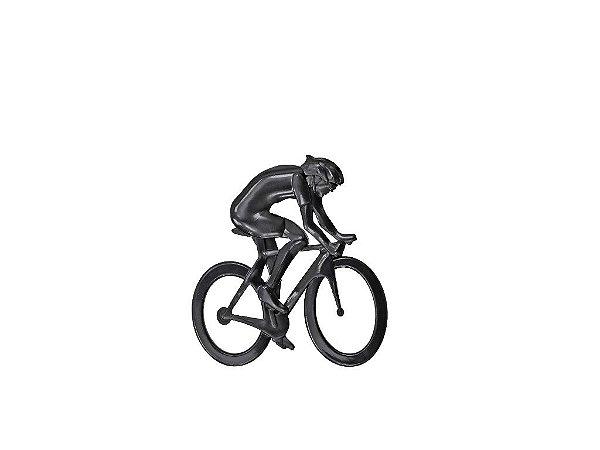 Adesivo para Carro Ictus Ciclista Preto Emblema