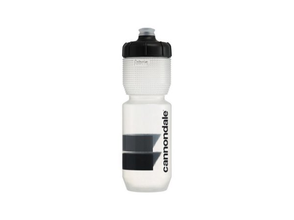 Garrafa Cannondale Block Gripper Logo Clear Fabric 750ml