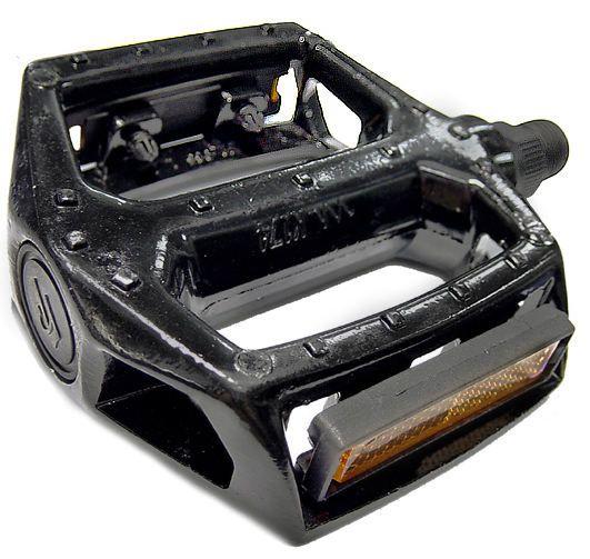 Pedal Plataforma Aluminio FP-965 RG 9/16 Preto rosca Grossa