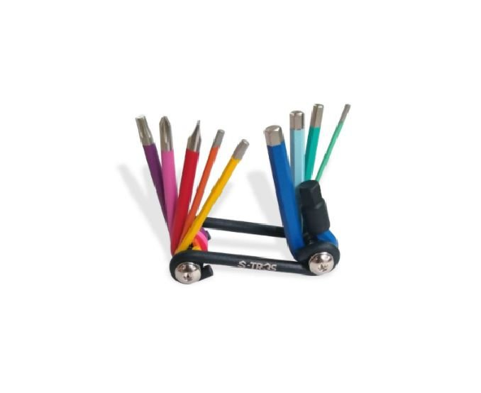 Kit de Ferramenta CANIVETE S-Tres Color Multi Tool