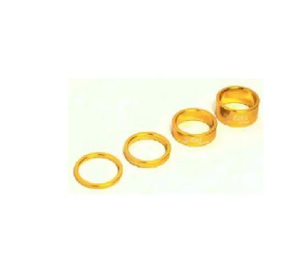 Espaçador de Direção A2Z em Aluminio Dourado 3-5-10-15mm