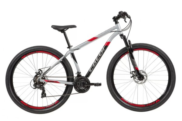 Bicicleta Caloi Supra 29 Aro 29 21 V Disco Prata Tam M A21