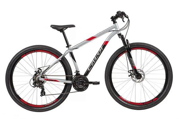 Bicicleta Caloi Supra 29 Aro 29 21 V Disco Prata Tam 15 A21