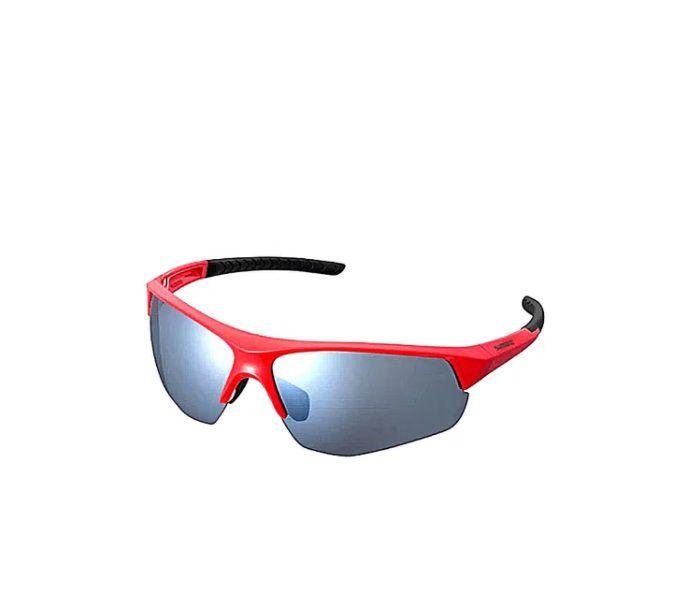 Óculos Shimano Twinspark Armação Vermelho lente Espelhado