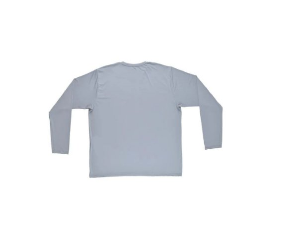 Camiseta Termica Confort Fit Summer Sun UV 50 Cinza Tam G