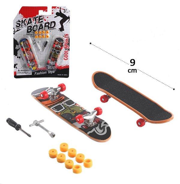 Skate de Dedo 2 Pecas com Acessórios Sortidos