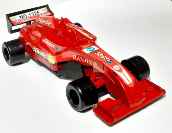 Carrinho Corrida Formula 1 Brinquedo Super F 1