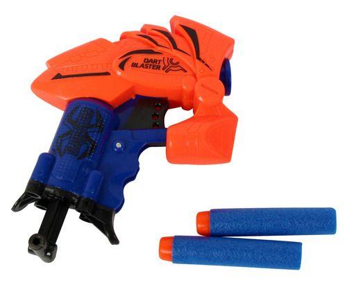 Pistola Lançador de dardos Brinquedo para Crianças Arma Arminha Infantil
