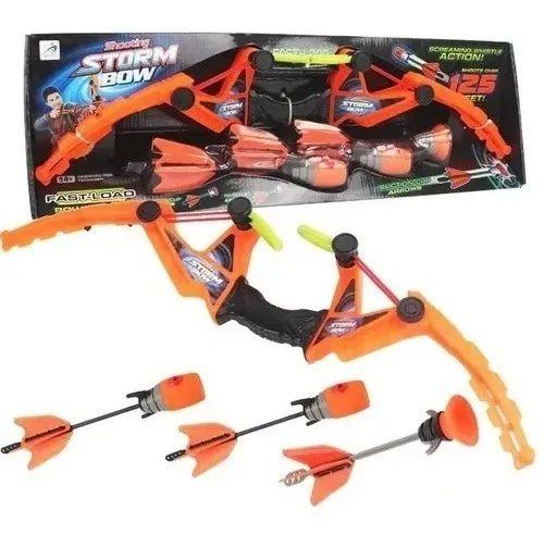 Brinquedo Arco E Flecha 3 Dardos  Arco E Flecha Storm Bow Brinquedo Profissional
