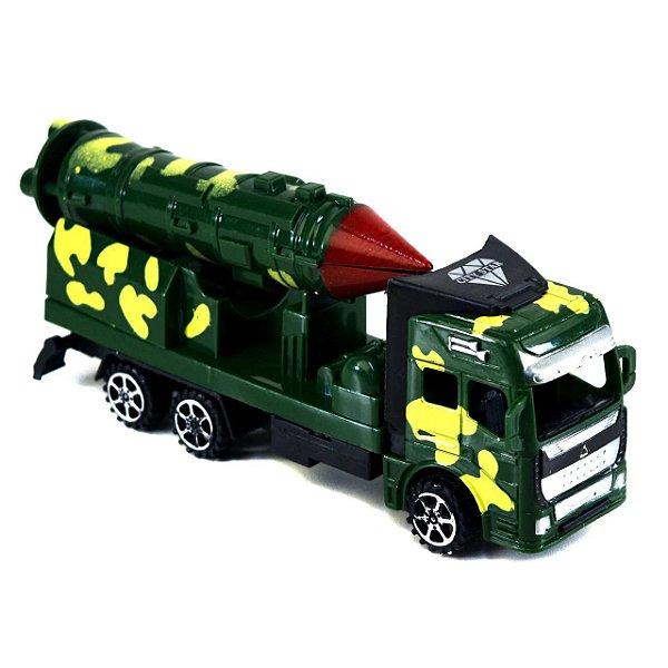 Caminhão De Fricção super Tanque Militar Com Míssil Móvel