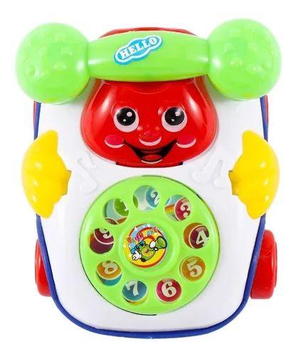 Brinquedos Do Bebê Música Telefone Movido A Corda
