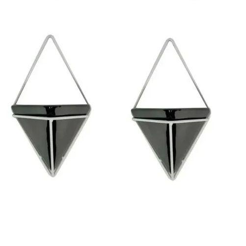 2 Vasinho Triangular Suporte De Parede Para Planta Suculenta