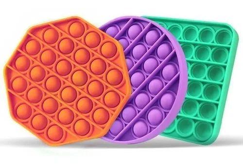 Pop It Fidget Toys Brinquedo Anti Stress