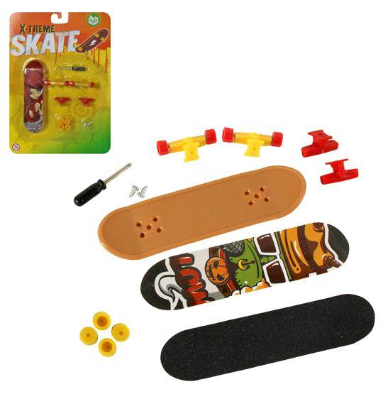 Skate De Dedo 14 Pecas Xtreme