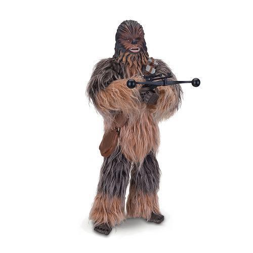 Boneco Interativo Chewbacca Star Wars Com Luz E Som Toyng