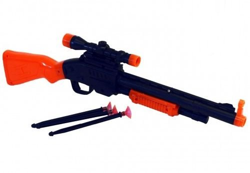 Pistola Arma Pistola Atira Dardos Promoção