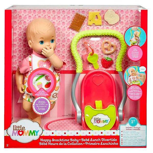 Little Mommy Primeiro Lanchinho - Matte
