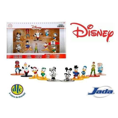 Metal Nano Disney Pack Com 10 Unidades 5 Cm - Dtc Jada