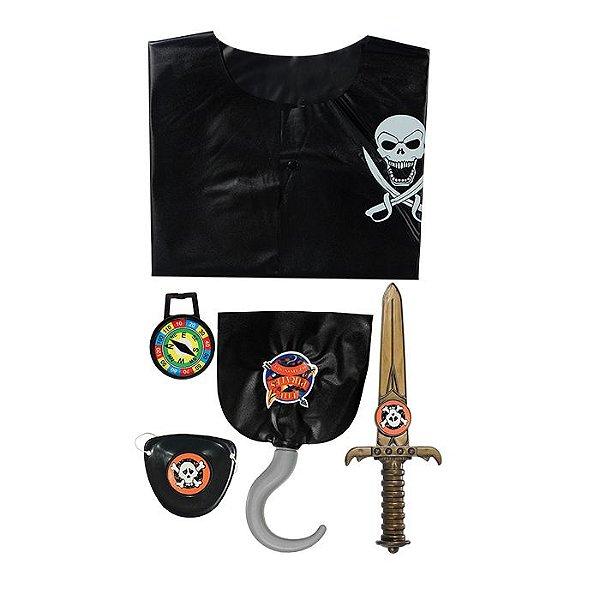 Kit Pirata Com 5 Peças