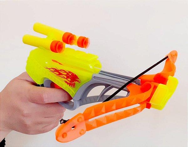 Arma Lança Dardos Arco Flecha Arqueiro  6 Peças