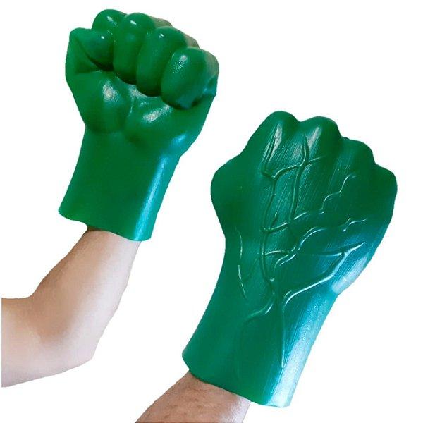 Par De Luvas Do Hulk  Coleção Heróis