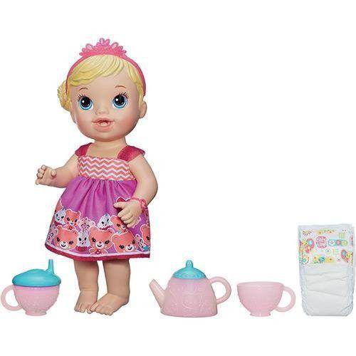 Baby Alive Chazinho Mágico Loira Original - Hasbro