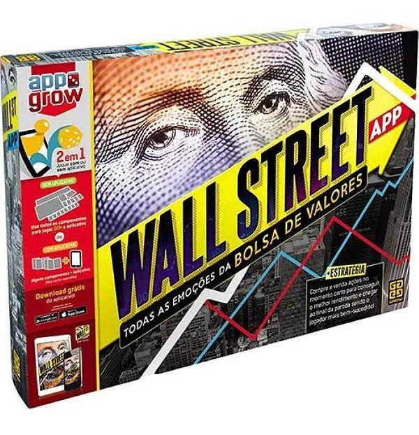 Jogo Wall Street Bolsa De Valores - Tabuleiro + App