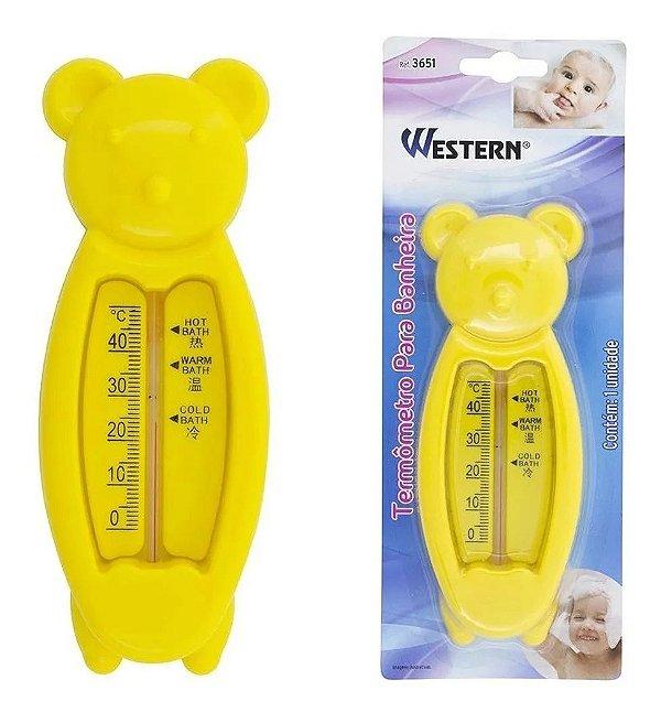 Termometro Para Banheira Banho Infantil Ursinho Western