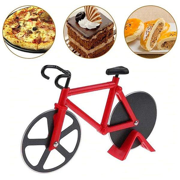 Cortador Fatiador Pizza Casa Massas Temperos Bicicleta