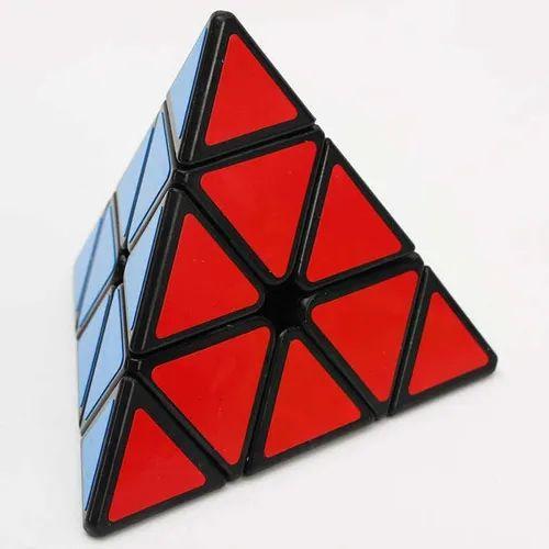 Cubo Magico Pyraminx Pirâmide Triângulo Profissional Black