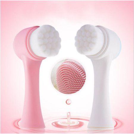 Escova 3D Dupla Face de Alta Qualidade para Massagem e Limpeza