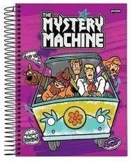 Caderno Scooby-doo Espiral Univ 96 Folhas Capa Dura 1 Matéria