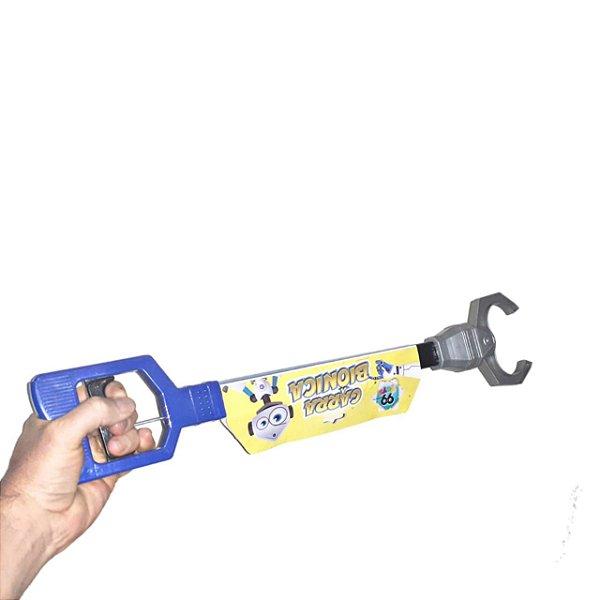 Mão Robô Biônica De Garra Brinquedo Infantil