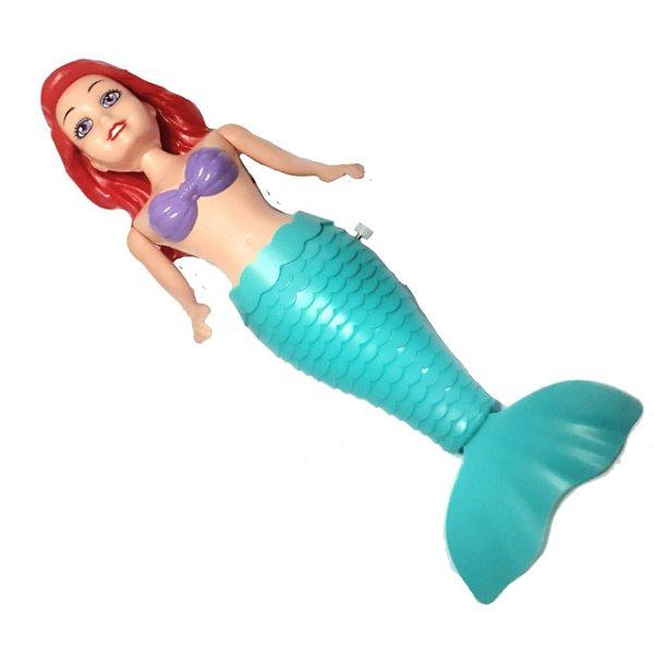 Boneca Sereia Encantada Nadadora