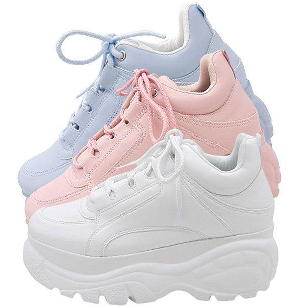 Tênis Feminino Chunky Sneaker Zatz Buffalo Plataforma Moda