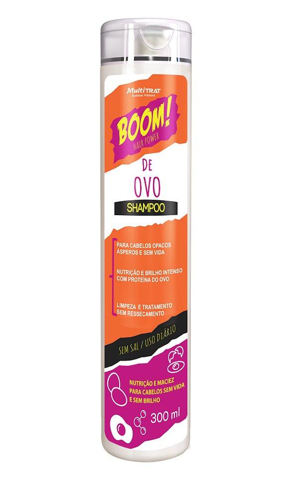 Shampoo boom de ovo