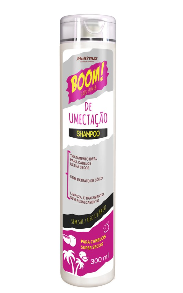 Shampoo boom de umectação